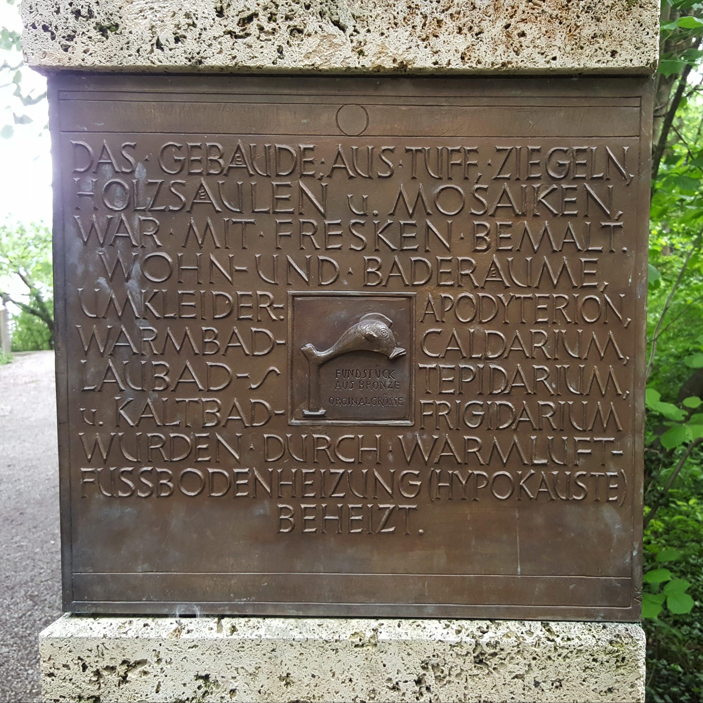 Römer-Stele in Schondorf am Ammersee