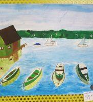 Kinder malen Schondorf 7
