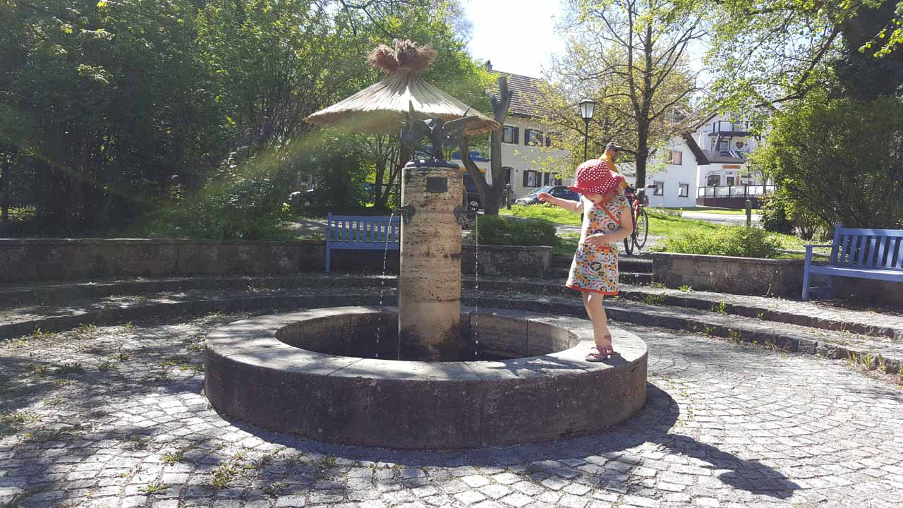 Brunnen in Schondorf am Ammersee
