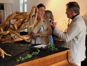 Maren Martell und Werner Kroener im Studio Rose