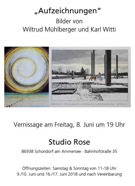 Karl Witti und Wiltrud Mühlberger