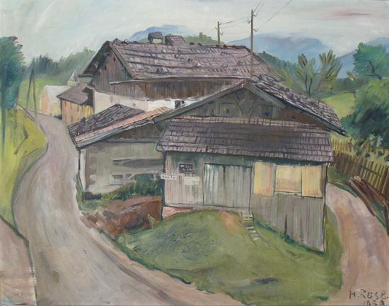 Heinz Rose: Bauernhäuser
