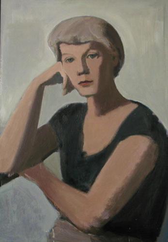 Heinz Rose: Bildnis seiner Frau Renate