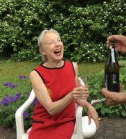Ruth Geiersberger mit verdienter Belohnung