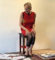 Ruth Geiersberger im Studio Rose