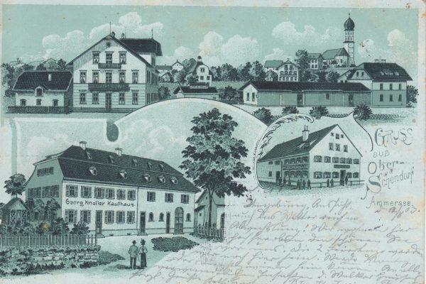 09 Oberschondorfer Highlights, damals (1903) wie heute