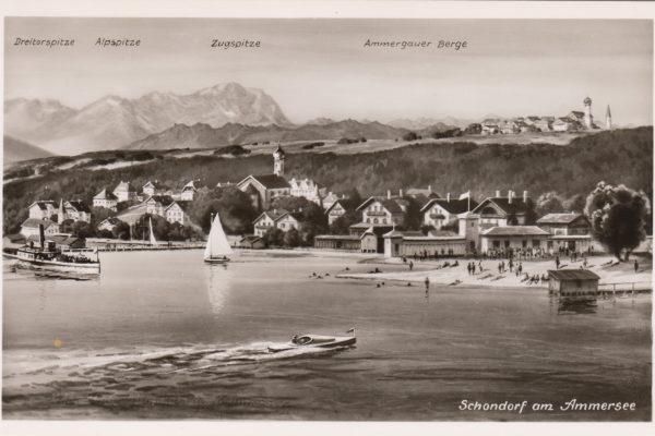 11 Der alte Hechenwanger Kirchturm hinter Oberschondorf