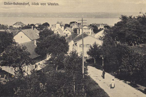 15 Etwas unsensible Aufnahme des Verschönerungsvereins um 1912
