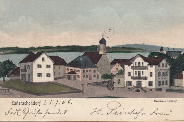 17 Ging 1906 an Frl. Klara B. in Augsburg