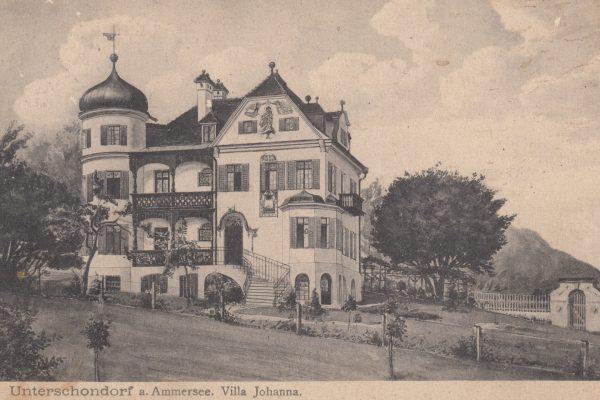 27 Das stattliche Haus wurde 1899 erbaut, die Karte neun Jahre später verschickt
