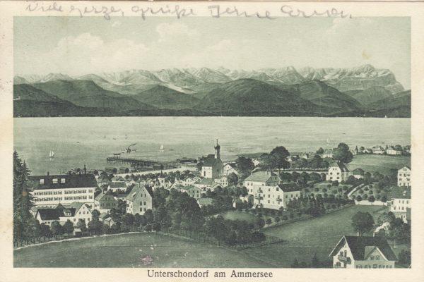 31 Reichlich übertrieben, die Alpenkulisse – aber so war das 1934
