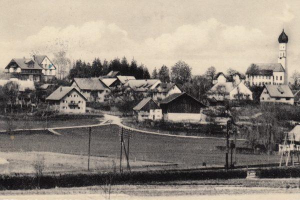 32 Volksschule vor Sankt Anna (1953) – zwei Klassenzimmer für acht Klassen – mein erstes Schuljahr