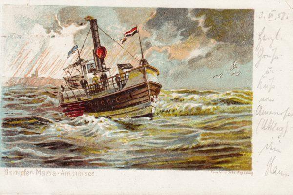 40 Ab 1888 (dramatischer) Pendelverkehr zwischen Grafrath und Stegen