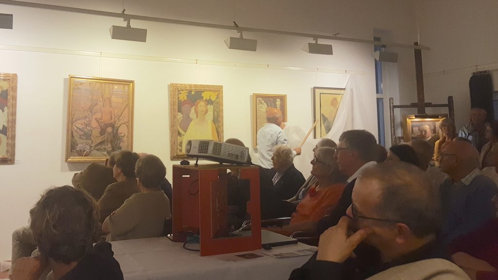 Prof. Mayer Tasch spricht über Fritz Erler