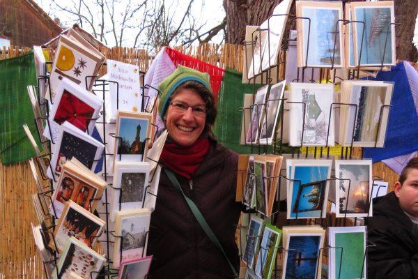 Die Photokarten von Anja Bach kamen sehr gut an