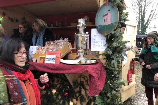 Der Schondorfer Kreis auf dem Christkindlmarkt