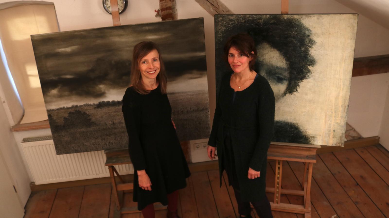 Elke Jordan und Gitte Berner-Lietzau