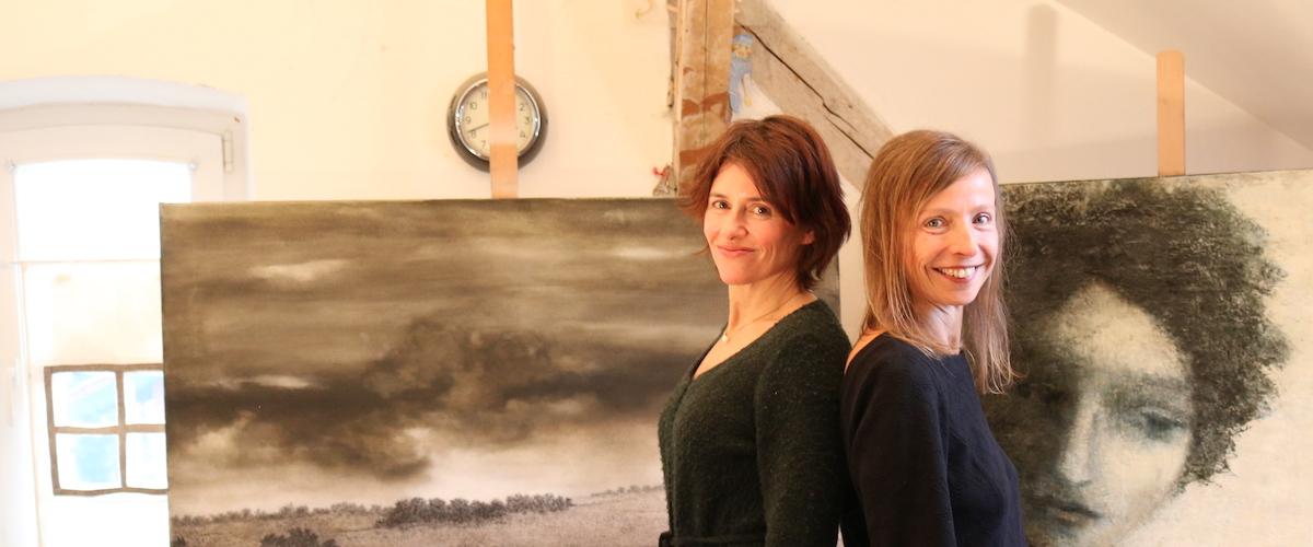 Gitte Berner und Elke Jordan