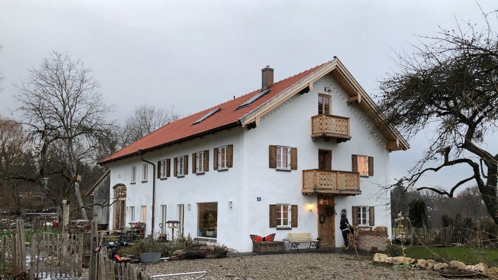 """Mit der Medaille """"Gelungen"""" ausgezeichnetes Haus in Schondorf am Ammersee"""