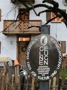 """Auszeichnung """"Gelungen"""" des Schondorfer Kreises"""