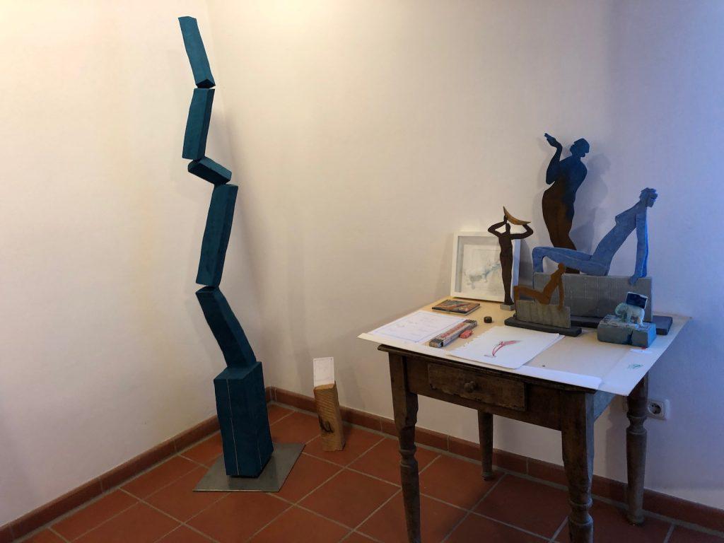 Christian Wahl und Hannes Kinau im Studio Rose, Schondorf