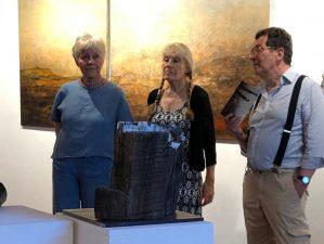 """Vernissage der Ausstellung """"Im Dialog"""", Studio Rose, Schondorf am Ammersee"""