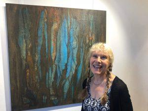 Margarete Bartsch im Studio Rose, Schondorf
