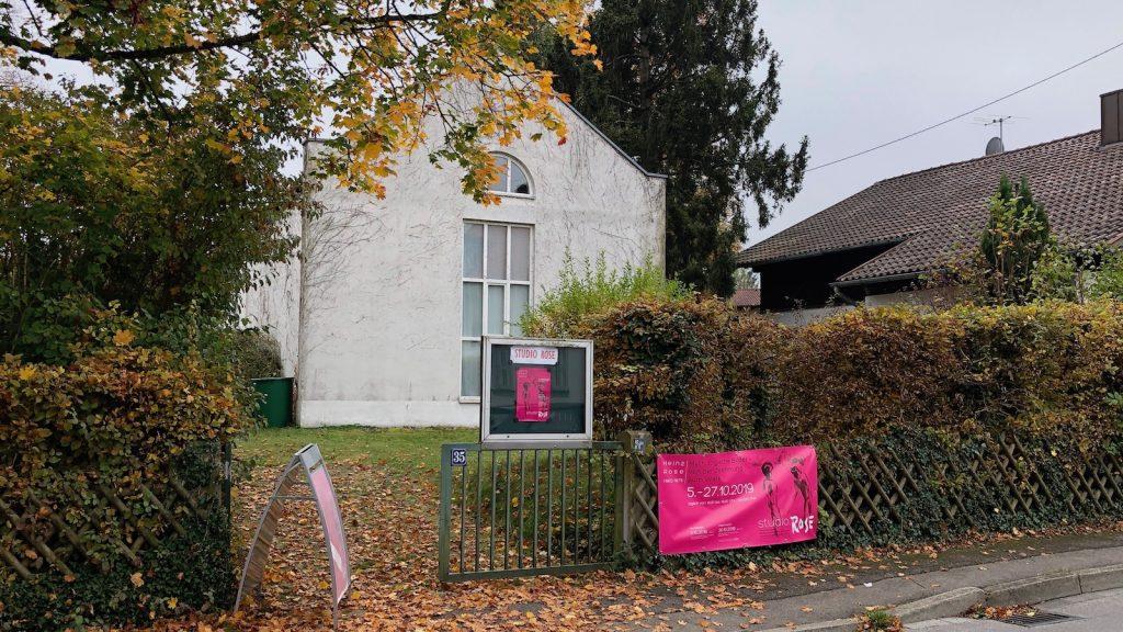 Ausstellung im Studio Rose, Schondorf am Ammersee
