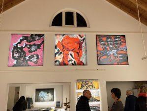 Barbara und Gernot Sieghart im Studio Rose