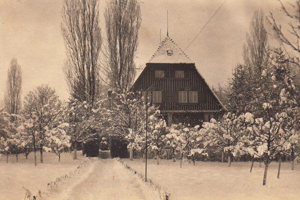 36 Die Villa Heymer (später 'Geier') am Seeweg Richtung Utting