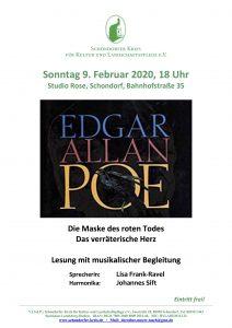 Lisa Frank liest Edgar Allan Poe