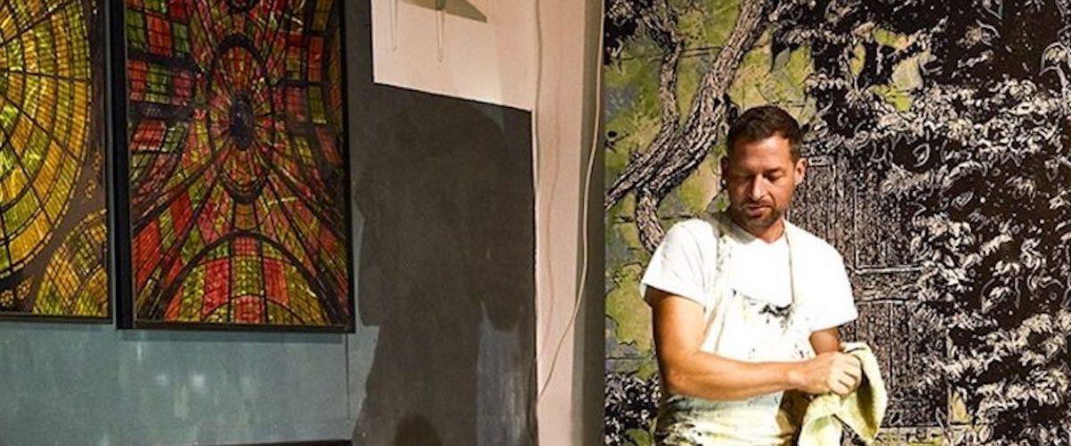 Jan Davidoff im atelierRose, Schondorf am Ammersee