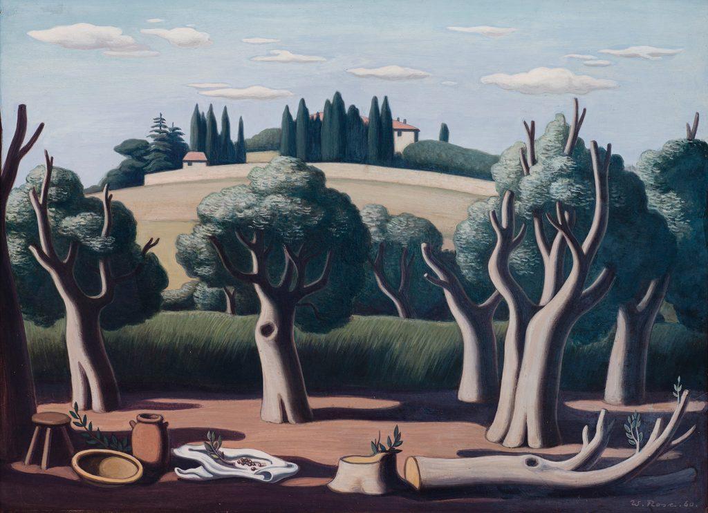 Walter Rose: Toskanische Landschaft
